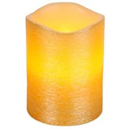 фото Свеча светодиодная Star Trading Linda. Высота: 12,5 см. Цвет: желтый