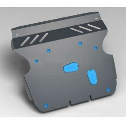 Комплект: защита картера и крепеж Novline-Autofamily Chery Indis 2011: 1,3 бензин МКПП - фото 4