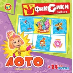 фото Лото развивающее Оригами «Фиксики» 11660