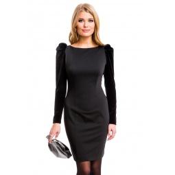 фото Платье Mondigo 5071. Цвет: черный. Размер одежды: 44