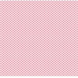 фото Отрез ткани Tilda Мелкий горошек. Цвет: розовый
