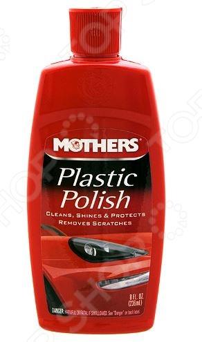 Полироль-очиститель для пластиковых фар и деталей Mothers MS06208 Plastic Polish Mothers - артикул: 487656