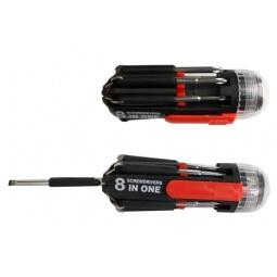 Купить Отвертка с битами и фонариком 31 ВЕК SD-890