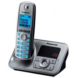 фото Радиотелефон Panasonic KX-TG6621. Цвет: серый