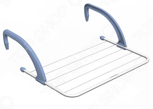 Сушилка для белья Gimi RadioСушилки для одежды и обуви<br>С радиаторной сушилкой для белья Gimi Radio вы забудете о развешивании мокрого белья на улице или на веревках в ванной комнате. Каркас модели выполнен из высокопрочной стали и снабжен шестью перекладинами. Для предотвращения порчи вещей все открытые элементы сушилки оборудованы защитными колпачками и заглушками. Изделие удобно крепится к радиатору при помощи двух пластиковых крючков. Сушилка эквивалентна натянутой веревке длиной 3 метра. Максимальная нагрузка не должна превышать 3-х кг.<br>