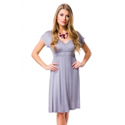 фото Платье Mondigo 8597. Цвет: серый