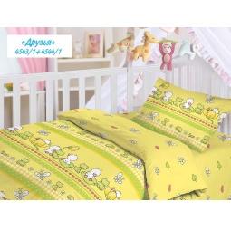 Купить Детский комплект постельного белья Облачко «Друзья»