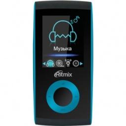 фото MP3-плеер Ritmix RF-4400. Цвет: бирюзовый. Встроенная память: 4 Гб