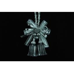 фото Подвес декоративный с колокольчиками Crystal Deco. Цвет: серебристый