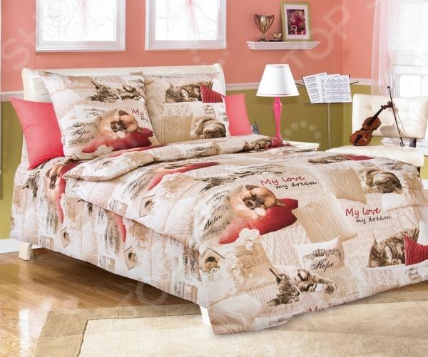 Детский комплект постельного белья Бамбино «Милый друг»