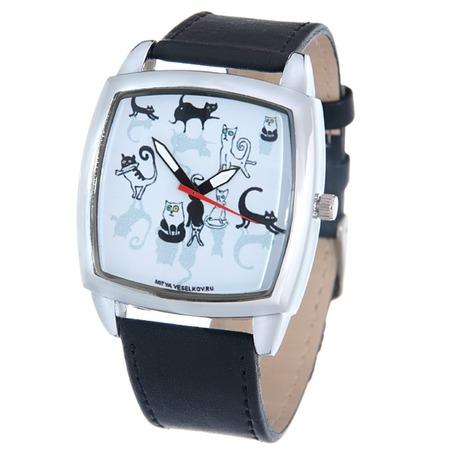 Купить Часы наручные Mitya Veselkov «Кошки и коты» CH