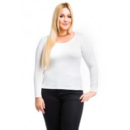 фото Кофта Mondigo XL 436. Цвет: белый. Размер одежды: 48