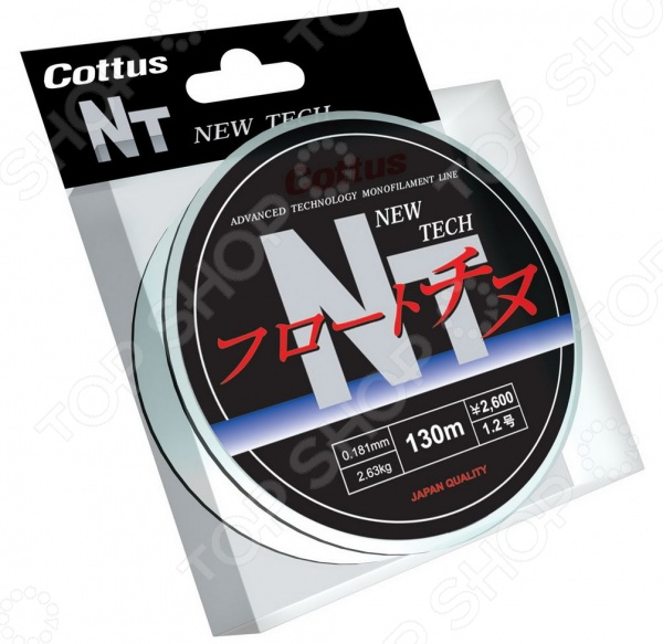Леска рыболовная Cottus NT