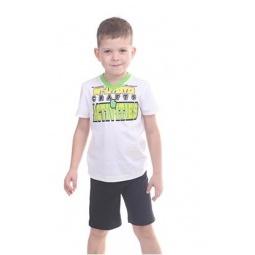 фото Комплект детский: футболка и шорты Свитанак 606497. Размер: 26. Возрастная группа: до 2 лет. Рост: 98 см