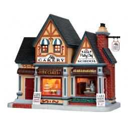 фото Домик керамический Lemax «Пекарня»