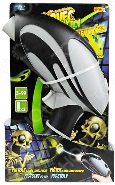 Бластер Johnny the Skull для тираБластеры<br>Бластер Johnny the Skull для тира дополнительный бластер для интерактивной игрушки-тира Джонни Череп . С ним можно играть в большой компании это добавит еще больше веселья и азарта. Изделие имеет эргономичный дизайн и небольшой вес, поэтому оно просто и удобно в использовании. На бластере имеется специальное окошко, показывающее текущий счет игры. Игрушка работает от 3-х батареек типа AAA в комплект не входят .<br>