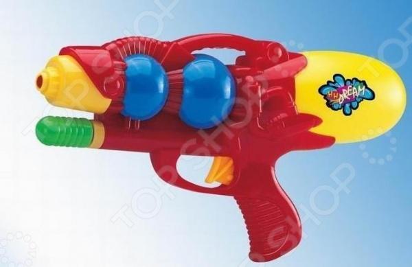 Пистолет водный 1719289Водные пистолеты<br>Пистолет водный 1719289 яркий водный пистолет, готовый стать прекрасным развлечением для вас и ваших детей в жаркий солнечный день лета. Для его использования не требуется много усилий - просто залейте в емкость воду, после чего пистолет готов стрельбе. Он достаточно мощный и струя доходит очень далеко. Приятного времяпрепровождения!<br>