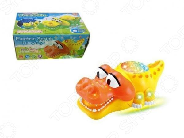 Игрушка с подсветкой 3в1 «Крокодил. Ночник. Проектор». В ассортименте