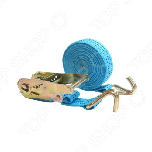 Стяжка для груза Megapower M-73358HКрепление груза<br>Стяжка для груза Megapower M-73358H необходимый предмет для перевозки вещей. Стяжка плотно фиксирует предметы в нужном положении и не дает опрокинуться или двинуться с положенного места. Груз фиксируется за счет ленты с надежным металлическим замком.  Ширина ленты - 40 мм  Общая длина - 8 м.<br>