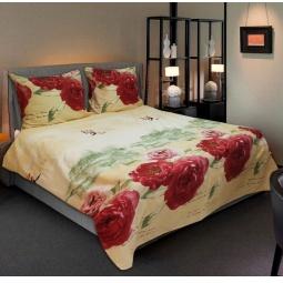 фото Комплект постельного белья Amore Mio Mademoiselle. Naturel. 1,5-спальный