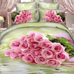 фото Комплект постельного белья с эффектом 3D Buenas Noches For You. Евро