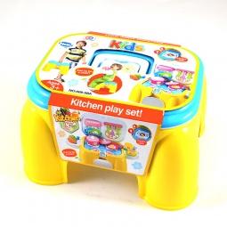фото Игровой набор для ребенка Shantou Gepai «Стульчик поваренка»