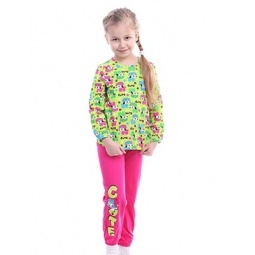 фото Пижама для девочки Свитанак 207410. Рост: 98 см. Размер: 28