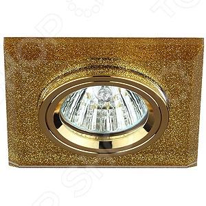 Светильник светодиодный встраиваемый Эра DK8 GD/SHGD светильник светодиодный встраиваемый эра kl11a wh gd