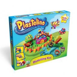 фото Набор пластилина игровой Plastelino с аксессуарами NOR2656