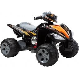 фото Квадроцикл детский электрический Пламенный Мотор 86082. Цвет: черный