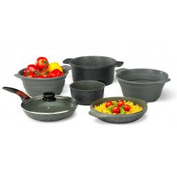 Купить Набор посуды 12 в 1 Delimano Stone Expert