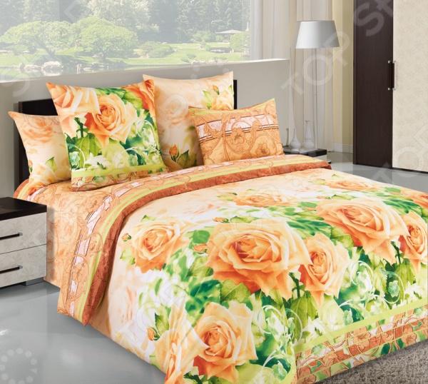 Комплект постельного белья Белиссимо «Леди-1». 1,5-спальный1,5-спальные<br>Комплект постельного белья Белиссимо Леди-1 это сочетание прекрасного качества и стильного современного дизайна. Он внесет яркий акцент в интерьер вашей спальной комнаты, добавит ей элегантности и изысканности. В набор входит пододеяльник, простынь и две наволочки. Постельное белье выполнено из высококачественной бязи и украшено оригинальным цветочным принтом. Бязь представляет собой плотную хлопчатобумажную ткань полотняного переплетения. Она отлично зарекомендовала себя в пошиве постельного белья, благодаря своей воздухопроницаемости, легкости и устойчивости к истиранию. Ткани и готовые изделия производятся на современном импортном оборудовании и отвечают европейским стандартам качества. Рекомендуется стирать белье в деликатном режиме без использования агрессивных моющих средств.<br>