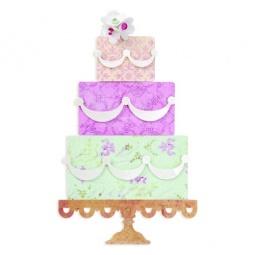 фото Форма для вырубки Sizzix Bigz Die Слоеный торт