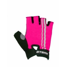фото Перчатки велосипедные облегченные Atemi AGC-05. Цвет: розовый. Размер: M