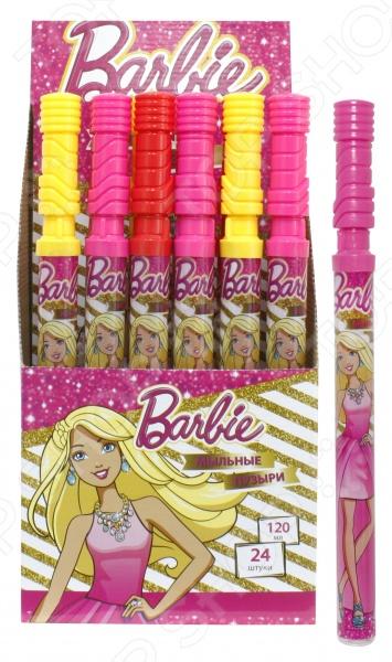 Мыльные пузыри 1 Toy Barbie. В ассортиментеМыльные пузыри<br>Товар продается в ассортименте. Цвет изделия при комплектации заказа зависит от наличия товарного ассортимента на складе. Мыльные пузыри 1 Toy Barbie это замечательный подарок для вашей малышки! Что может быть увлекательнее, чем выдувать мыльные пузыри и наблюдать за тем, как они парят в воздухе Переливаясь в лучах солнца, большие или маленькие невесомые шарики дарят радость и хорошее настроение не только ребенку, но и его родителям. Мыльные пузыри будут хорошим дополнением к праздничному мероприятию, например, детскому утреннику или Дню Рождения. Колба покрыта термопленкой с изображением Барби. Объем составляет 120 мл.<br>