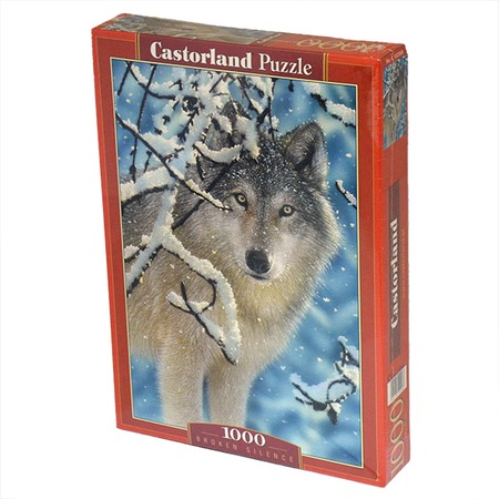 Купить Пазл 1000 элементов Castorland «Волк»