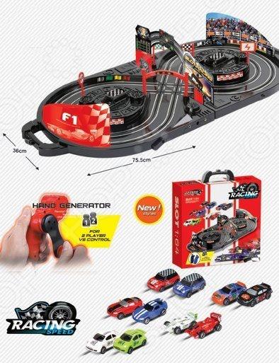 Набор игровой для гонок Shantou Gepai «Автотрек» JJ92-2 игрушечное оружие dream makers игрушечное оружие град