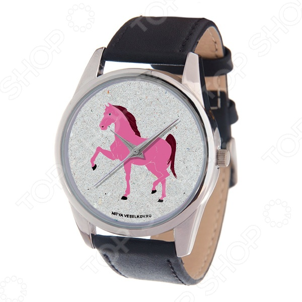 Часы наручные Mitya Veselkov «Гарцующая лошадка» MV