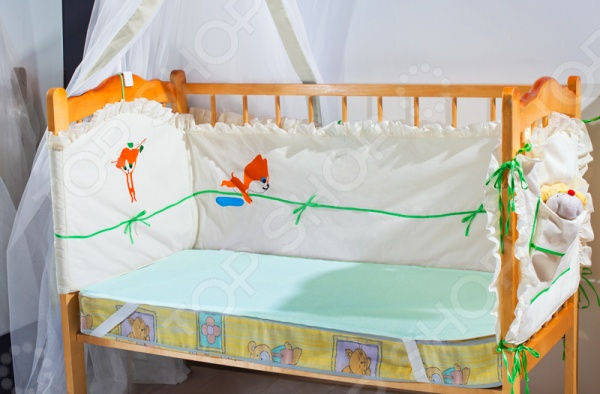 Влагонепроницаемый наматрасник Primavelle 138720007 на резинках не только защитит детский матрас от внешних повреждений и образования пятен, но и обеспечит малышу более комфортный и спокойный отдых. Модель выполнена из смеси натурального хлопка и полиэстера, отлично зарекомендовавших себя в пошиве постельного белья, благодаря мягкости, влаговпитываемости и устойчивости к истиранию. Изделие устойчиво к слеживанию и различного рода механическим воздействиям, быстро восстанавливают форму после сжатия.