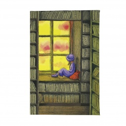 фото Обложка для автодокументов Mitya Veselkov «В библиотеке»
