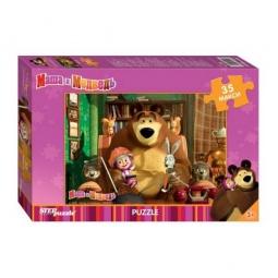 Купить Пазл Step Puzzle «Маша и Медведь»