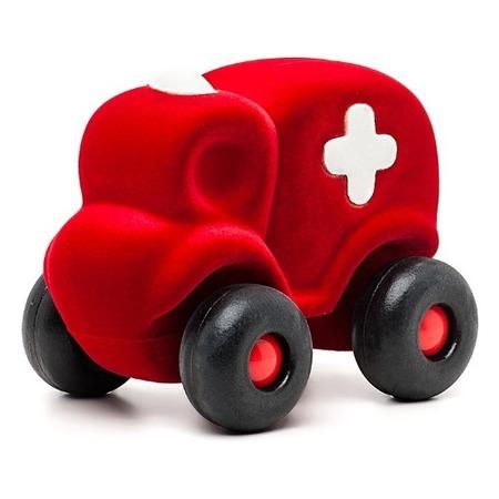 Купить Машинка из каучука Rubbabu Скорая помощь