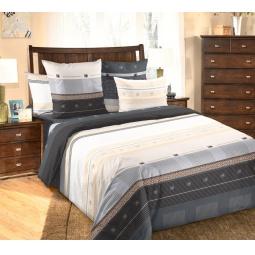 фото Комплект постельного белья Белиссимо «Мишель». 2-спальный. Размер простыни: 220х240 см