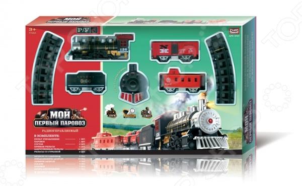 фото Железная дорога на радиоуправлении PlaySmart Р41108, Железные дороги