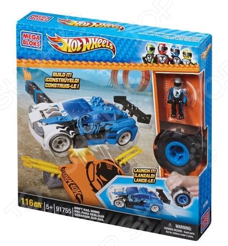 Мини-конструктор Mega Bloks Трек Turbo Tire
