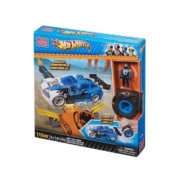 фото Мини-конструктор Mega Bloks Трек Turbo Tire. В ассортименте