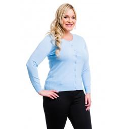 фото Жакет Mondigo XL 9769. Цвет: голубой. Размер одежды: 48
