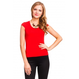 фото Футболка Mondigo 7001. Цвет: красный. Размер одежды: 46