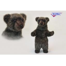 фото Мягкая игрушка Hansa «Медвежонок гризли»
