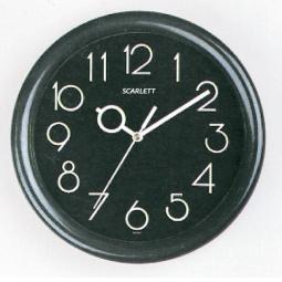 фото Часы настенные Scarlett SC-09 B